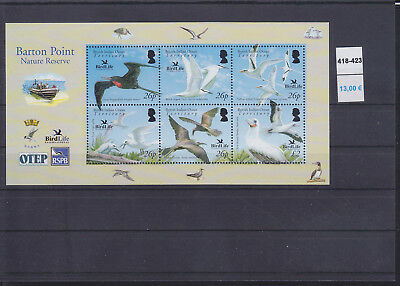 065385 Vögel Birds BIOT British Indian Ocean Territory 418-23 ** MNH Year 2006