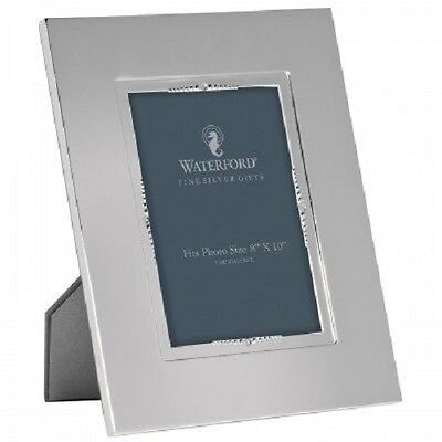 """Waterford Lismore Bead Silver Picture Photo Frame 8 X 10 """" Brand New And Boxed."""