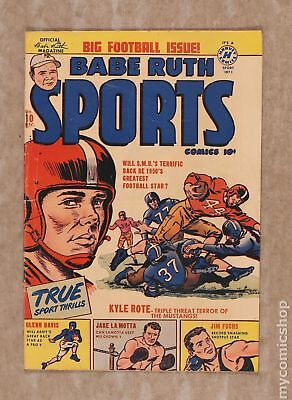 Babe Ruth Sports Comics #10 1950 VG- 3.5