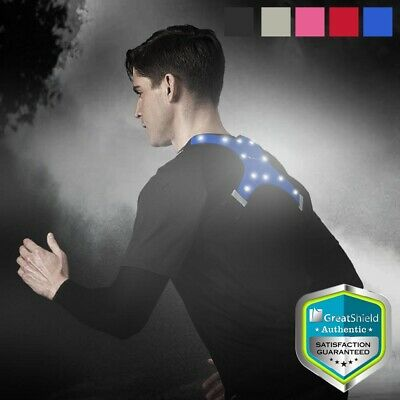 Outdoor Running Jogging Cycling Biking Night LED Light Safety Vest Waterproof