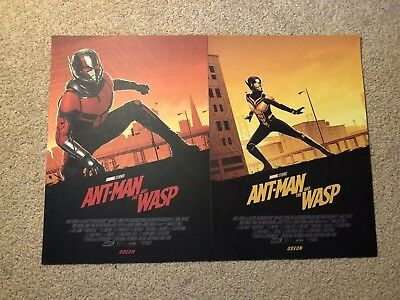 Ant-Man And The Wasp ODEON Poster Exclusive New NM Matt Ferguson Full Two Antman