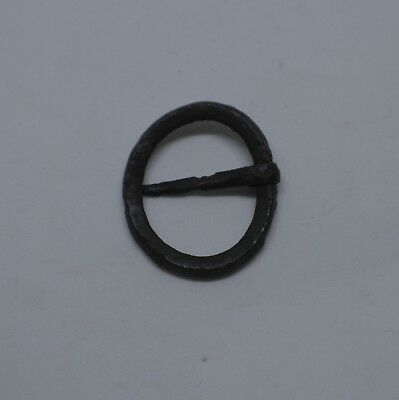 Medieval Silver Annular Ring Brooch -  Lincolnshire, UK Metal Detecting Find