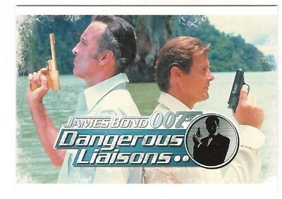 2006 James Bond Dangerous Liasons 110-CARD Set Sean Connery, Roger Moore