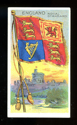 1911 T59 Flags of Nations England Royal Standard Derby VG 98714