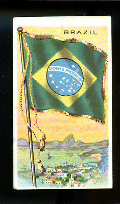 1911 T59 Flags of Nations Brazil Derby VG 98717