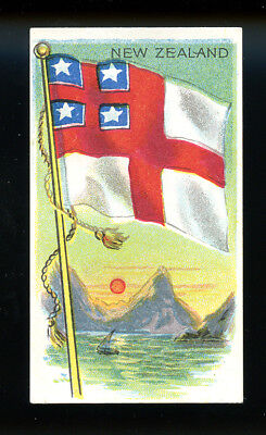 1911 T59 Flags of Nations New Zealand Derby VG 98728