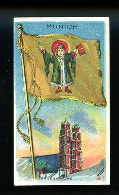 1911 T59 Flags of Nations Munich Derby VG 98734