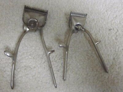 Vintage Hair Clippers- lot of 2,Oster and Ace brands,working condition,one large