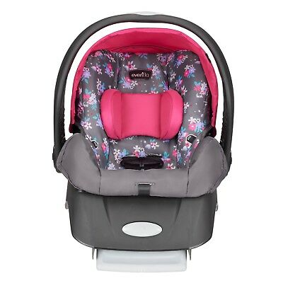 New Evenflo Embrace Select Infant Car Seat, Blossom Free Shipping!
