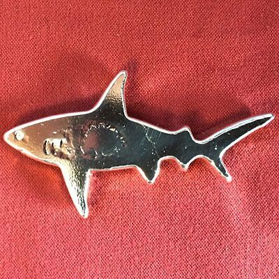 3 oz hand poured . 999 fine Silver Shark Week / 217  Ericson Mint