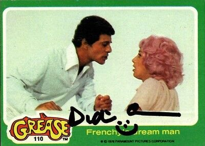 1978 Topps Card #110 Grease Signed Didi Conn Signed Jsa Coa