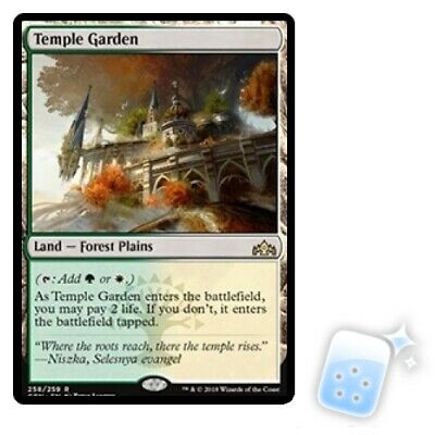 TEMPLE GARDEN Guilds Of Ravnica GRN Magic MTG MINT CARD