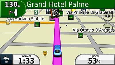 2019 Italy and Greece car navigation map set for Garmin GPS on MicroSD card