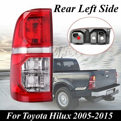 12V Left Rear Tail Back Light Brake Lamp Fits For Toyota Hilux 2005-2015 Red