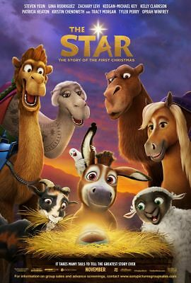 The Star - original DS movie poster - 27x40 D/S Advance Christmas