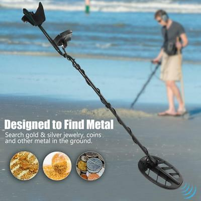 Waterproof Metal Detector Gold Digger Light Hunter Find Deep Sensitive Search DH