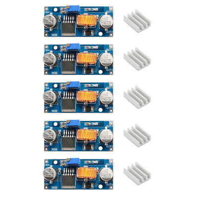 5x 5A XL4015 DC-DC Step Down Buck Power Supply Module LED Lithium Charger TE908