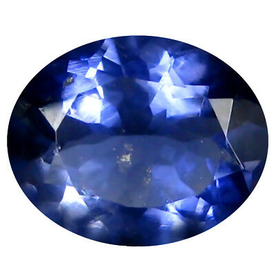 1.11 ct AAA Pretty Oval Shape (8 x 7 mm) Iolite Natural Loose Gemstone