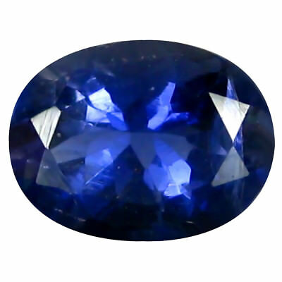 0.92 ct AAA Stunning Oval Shape (8 x 6 mm) Iolite Natural Loose Gemstone