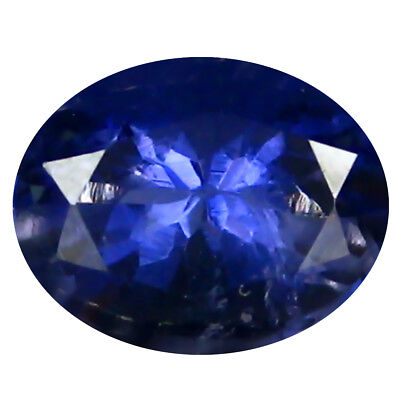 1.02 ct AAA Mind-Boggling Oval Shape (8 x 6 mm) Iolite Natural Loose Gemstone