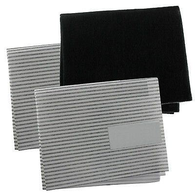 UNIVERSAL Grease Carbon Filters + Cooker Hood Filter Extractor Vent Fan Odour