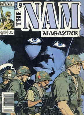 'Nam Magazine, The #9 FN; Marvel | combined shipping available - details inside