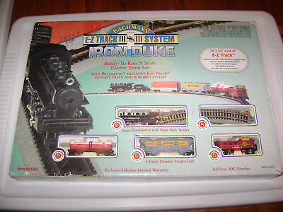 1998 Bachmann N Scale E-Z Track System Iron Duke Electric Train Set