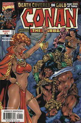 Conan: Death Covered In Gold #1 VF/NM; Marvel   combined shipping available - de