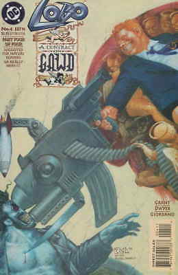 Lobo: A Contract on Gawd #4 VF/NM; DC | combined shipping available - details in