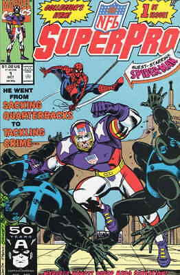 NFL Superpro #1 VF/NM; Marvel | combined shipping available - details inside