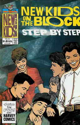 New Kids on the Block Step By Step #1 VF/NM; Harvey | combined shipping availabl