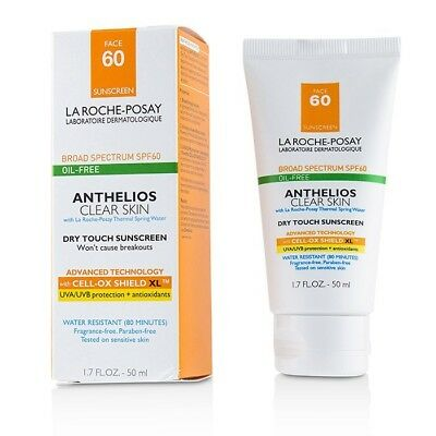La Roche Posay Anthelios Clear Skin Dry Touch Sunscreen For Face SPF 60 - 50ml