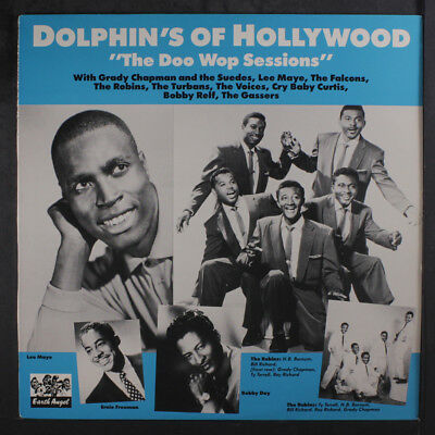 VARIOUS: Dolphin's Of Hollywood, The Doo Wop Sessions LP (Sweden) Vocal Groups
