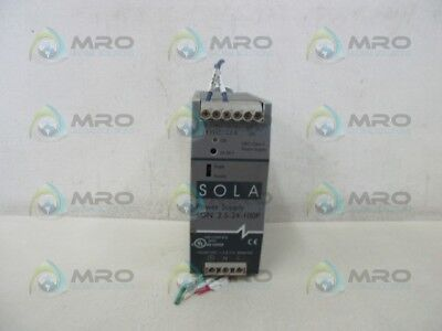 Sola Sdn2.5-24-100P Power Supply * Used *