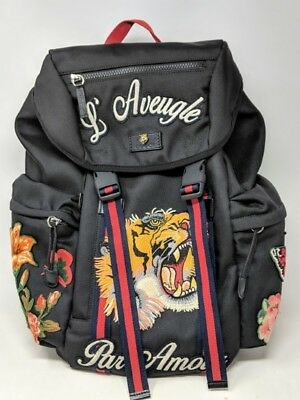 d4179299cc7 GUCCI TECHNO CANVAS Backpack 429037 -Od (Ppj016183) -  1
