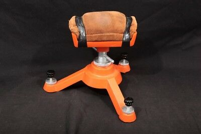 Astonishing Hoppes Adjustable Shooting Rest Tripod With Leather Bean Creativecarmelina Interior Chair Design Creativecarmelinacom