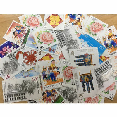 Sheet 50/80/120 Cent Stamp Collection Old Value Lots China World Stamps