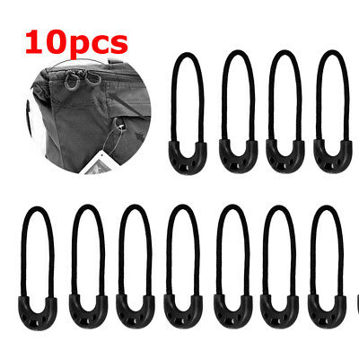 Lot 10 Zipper Tags Cord Pulls Zipper End Extension Zip Fixer Fastener Puller