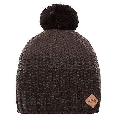 The North Face Antlers Mens Headwear Beanie Hat - Tnf Black Graphite Grey