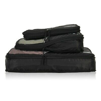 Hynes Eagle Travel 50% Compression Expandable Packing Organizers Cubes 3-piece