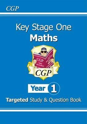 KS1 Maths Targeted Study & Question Book - Year 1 by CGP Books 9781782941354
