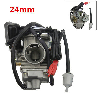 24mm GY6 125cc 150cc Motorcycle Carburetor Carb For BAJA Scooter ATV 125cc PD24J