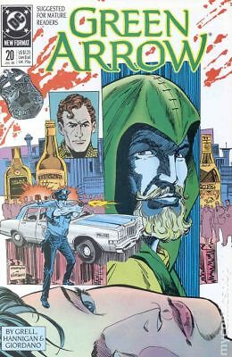 Green Arrow (1st Series) #20 1989 FN Stock Image