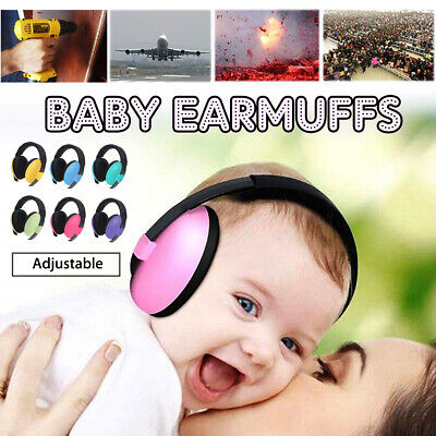 BABY Childs Ear Defenders Earmuffs Protection 6 COLOURS 3months+ Boys Girl