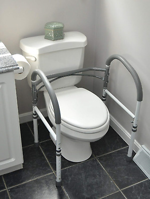 Best Bathroom Safety Toilet Rail Adjustable Handrail Assist Grab Bar For Seniors