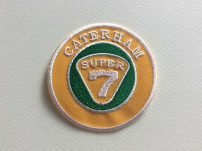 A082 // Ecusson Patch Aufnaher Toppa / Neuf / Caterham / 7.5 Cm