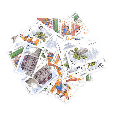 1X Random Send Stamp Collection Old Value Lots China World Stamps for Collecting