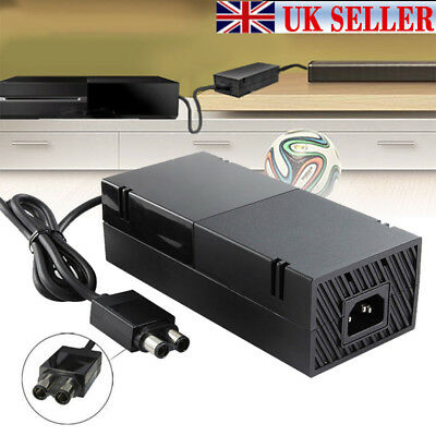 UK Plug Mains Power Supply Adapter Charger Cable Charge For Microsoft Xbox One