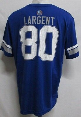 Seattle Seahawks NFL Men Royal Blue Hall of Fame   80 Steve Largent Jersey  Shirt fa3ac7631