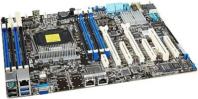 2X ASUS MOTHERBOARD Mainboard Optional Heatsink Chipset VRM